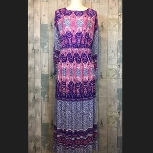 NWT Free People V-Neck Maxi Dress